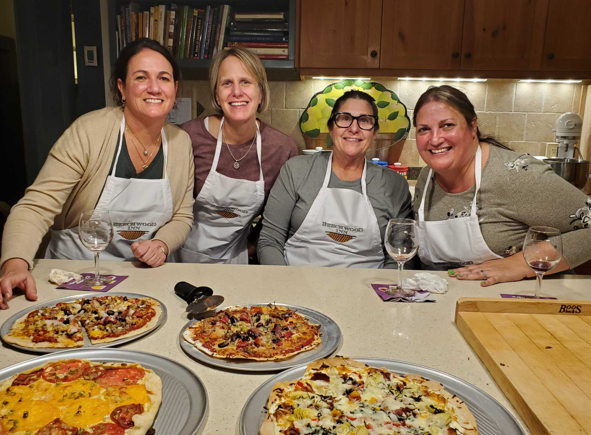 Gal-Pals Cooking Class at Beechwood Inn