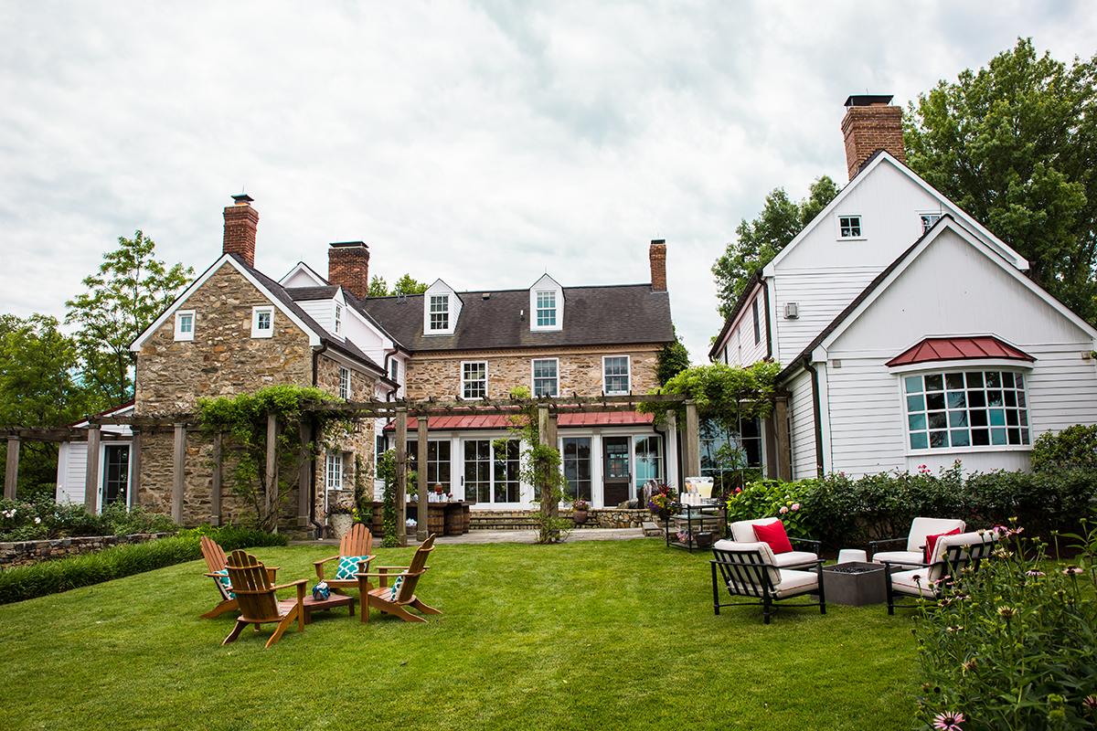Farm House Courtyards