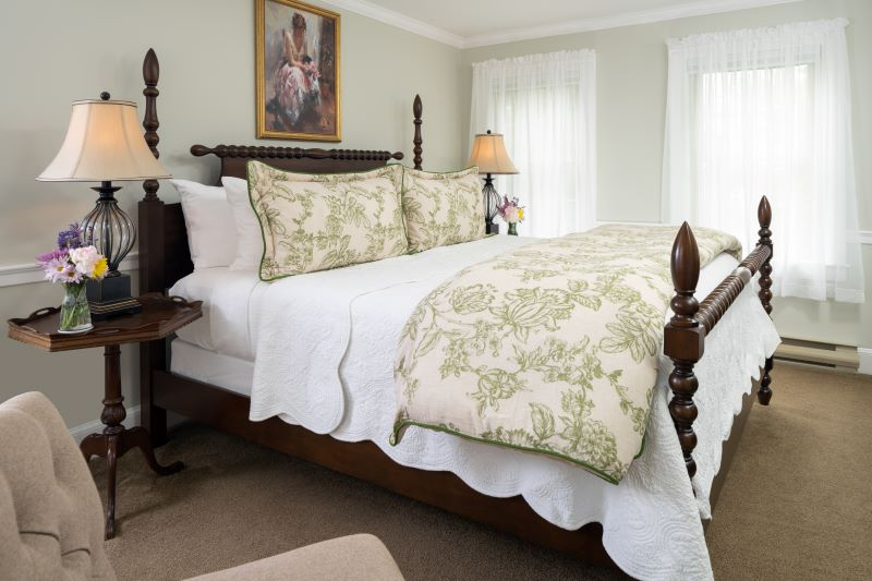 Sebago Suite with King bed at 1802 House