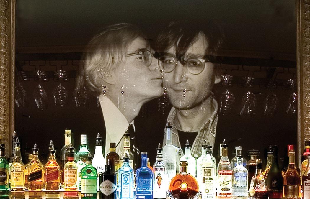 Hotel FauchereBar Louis closeup Lennon Warhol - Sean Strub