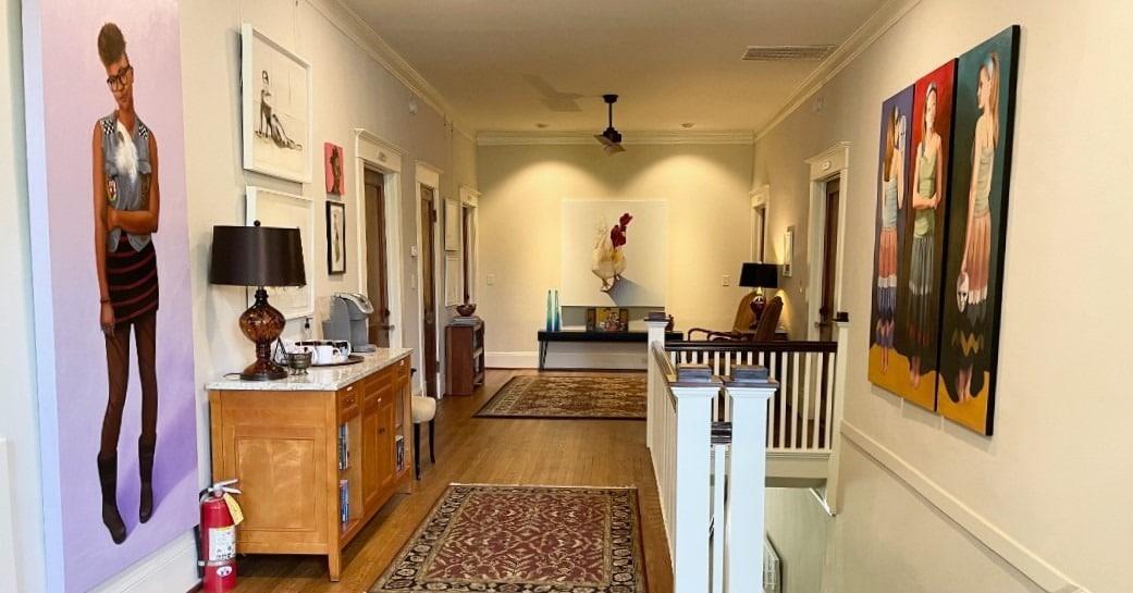 upstairs hallway - Gillen HouseBandB